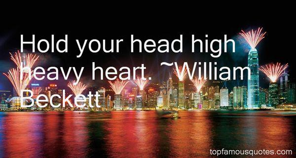 William Beckett Quotes