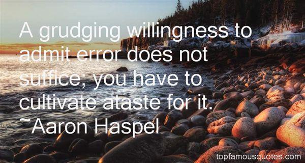 Aaron Haspel Quotes