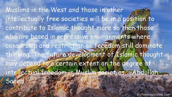 Abdullah Saeed Quotes