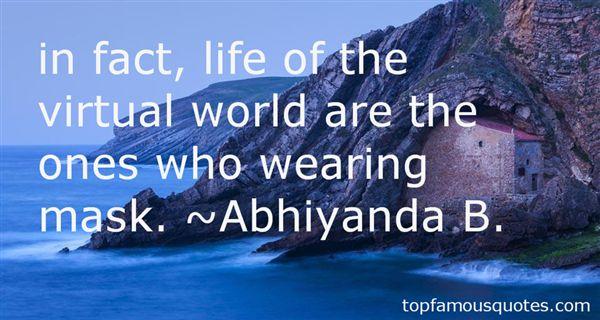 Abhiyanda B. Quotes