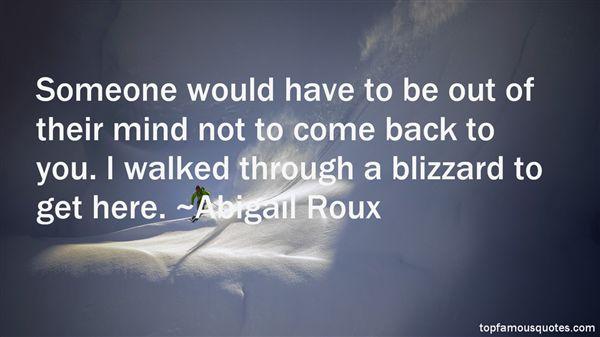Roux Quotes Abigail Roux Quotes
