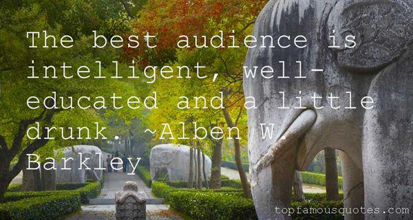 Alben W. Barkley Quotes