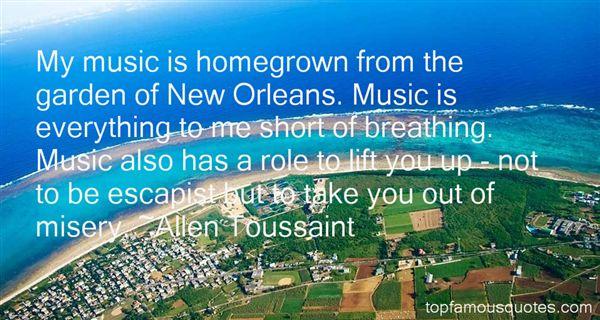 Allen Toussaint Quotes