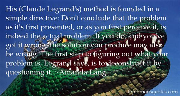 Amanda Lang Quotes