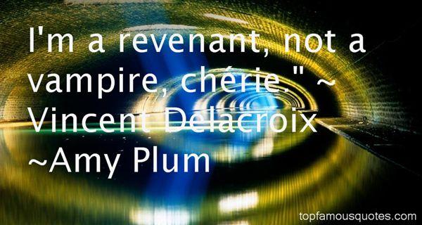 Amy Plum Quotes