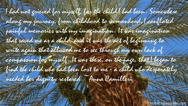 Anna Camilleri Quotes