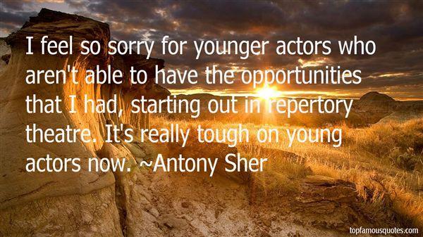 Antony Sher Quotes
