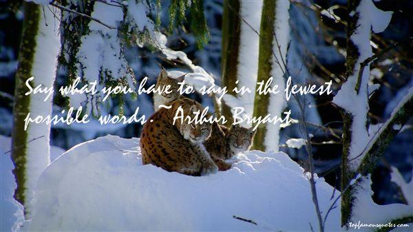 Arthur Bryant Quotes