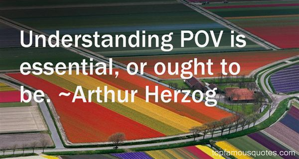 Arthur Herzog Quotes