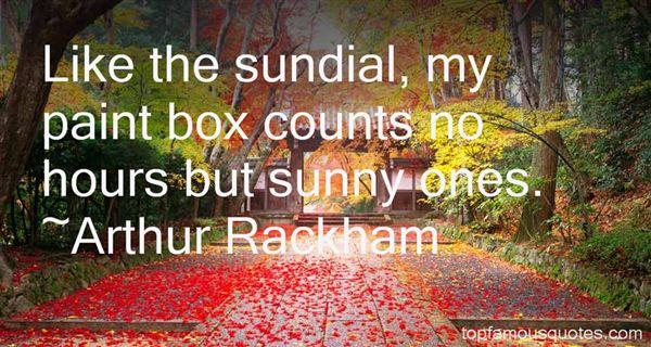 Arthur Rackham Quotes