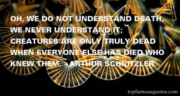 Arthur Schnitzler Quotes