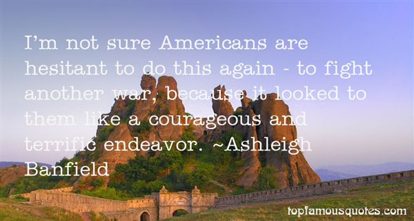 Ashleigh Banfield Quotes