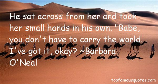 Barbara O'Neal Quotes