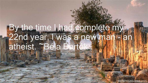Béla Bartók Quotes
