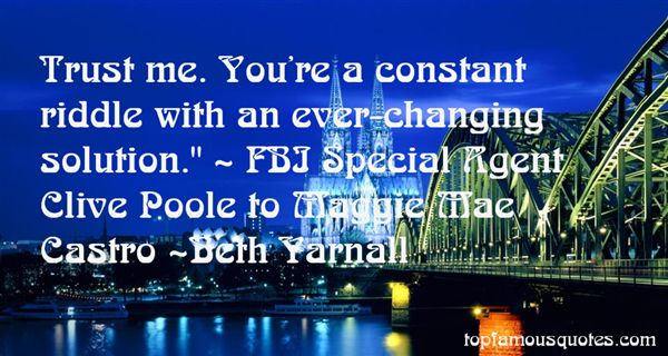 Beth Yarnall Quotes