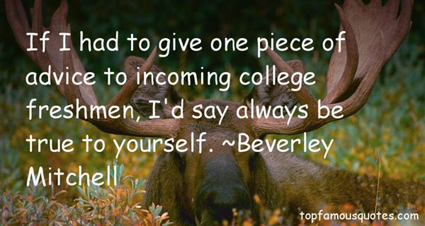 Beverley Mitchell Quotes