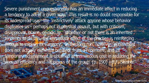 B.F. Skinner Quotes