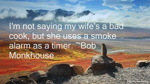 Bob Monkhouse Quotes