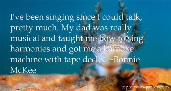 Bonnie McKee Quotes