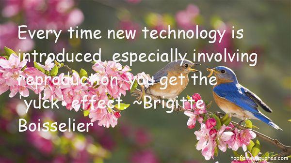 Brigitte Boisselier Quotes