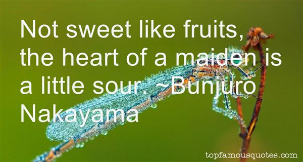 Bunjuro Nakayama Quotes