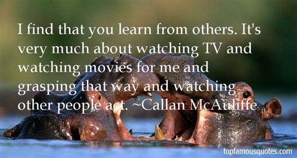 Callan McAuliffe Quotes
