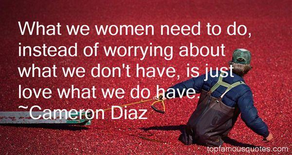 Cameron Díaz Quotes