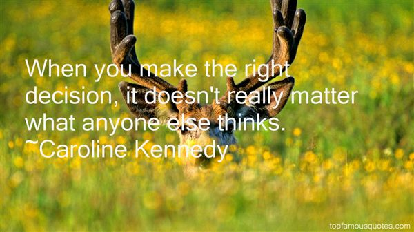Caroline Kennedy Quotes