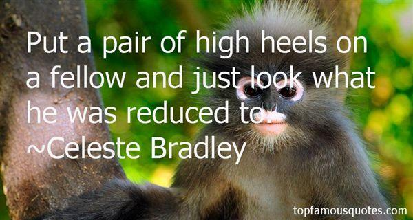 Celeste Bradley Quotes