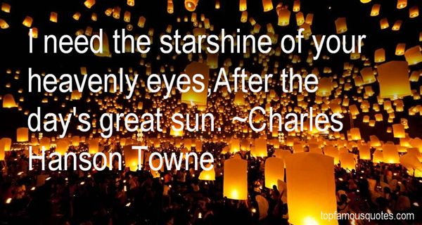Charles Hanson Towne Quotes
