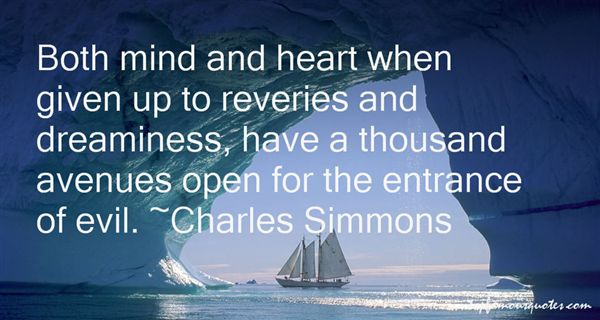 Charles Simmons Quotes