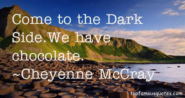Cheyenne McCray Quotes