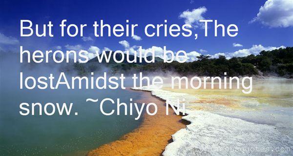 Chiyo Ni Quotes