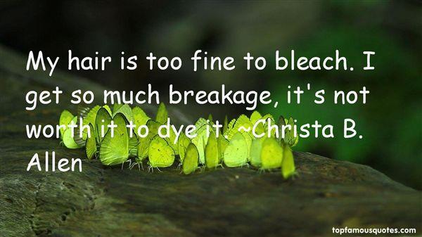 Christa B. Allen Quotes