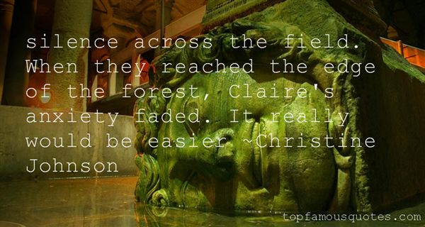 Christine Johnson Quotes