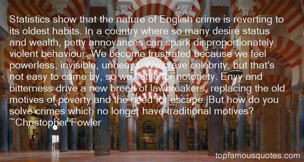 Christopher Fowler Quotes