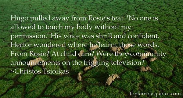 Christos Tsiolkas Quotes