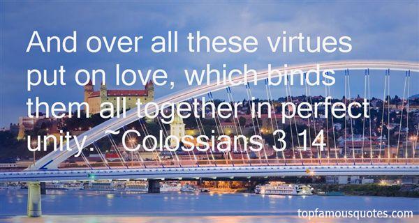 Colossians 3 14 Quotes