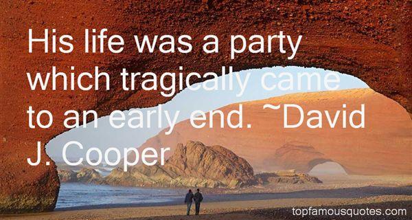 David J. Cooper Quotes