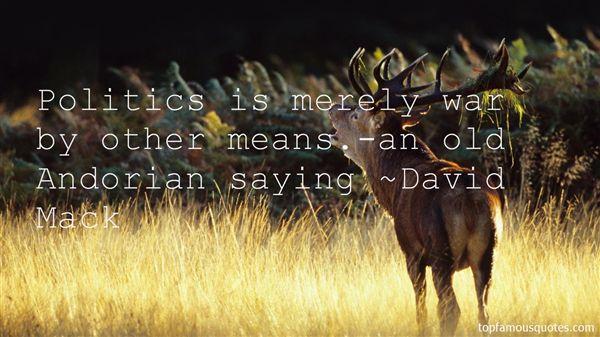 David Mack Quotes