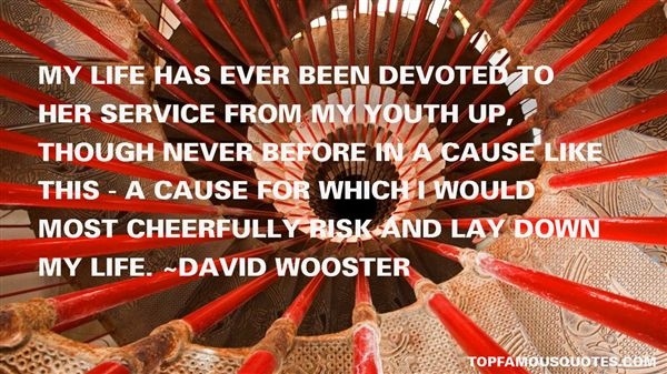 David Wooster Quotes
