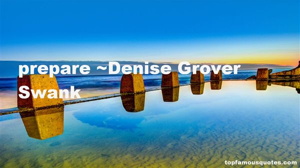 Denise Grover Swank Quotes