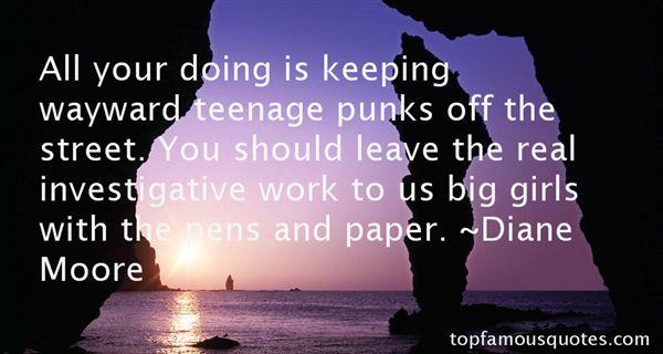 Diane Moore Quotes