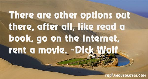 Dick Wolf Quotes
