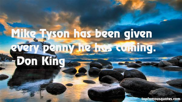Don King Quotes