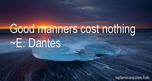 E. Dantes Quotes