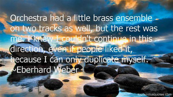 Eberhard Weber Quotes