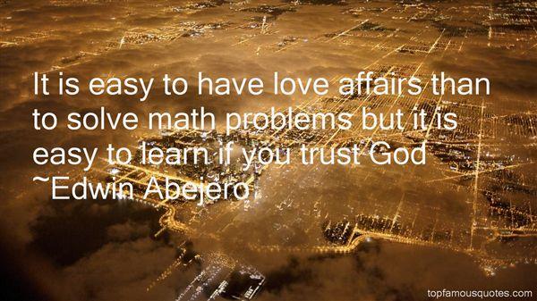 Edwin Abejero Quotes