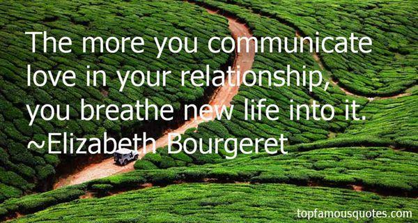 Elizabeth Bourgeret Quotes