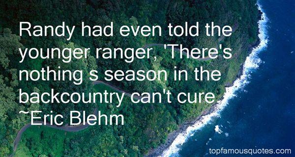 Eric Blehm Quotes